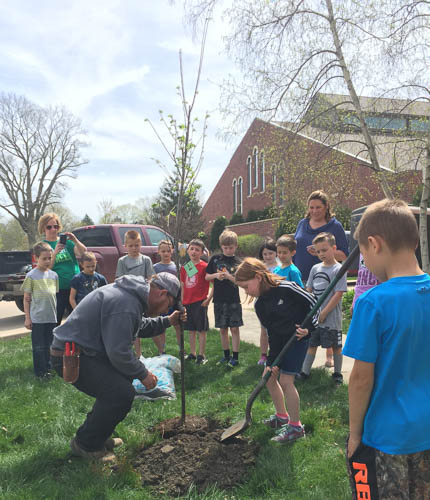 2018 ICS Arbor Day Celebration