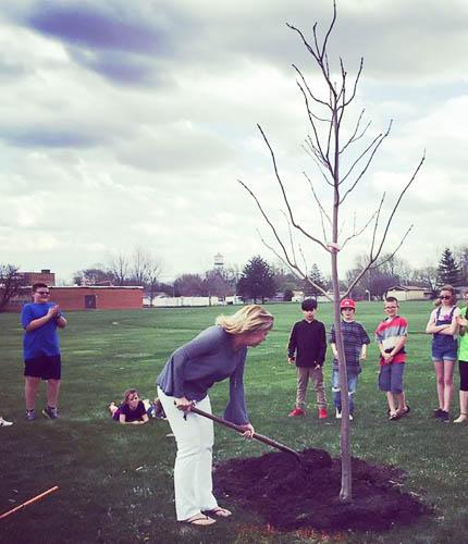 2018 Arbor Day Celebration at MVK