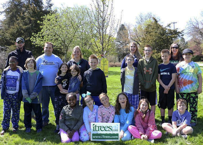 2019 Arbor Day Planting with Parkview Christian Academy