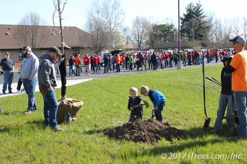 2018 Arbor Day- Replanting Coal City with ComEd® & Exelon®