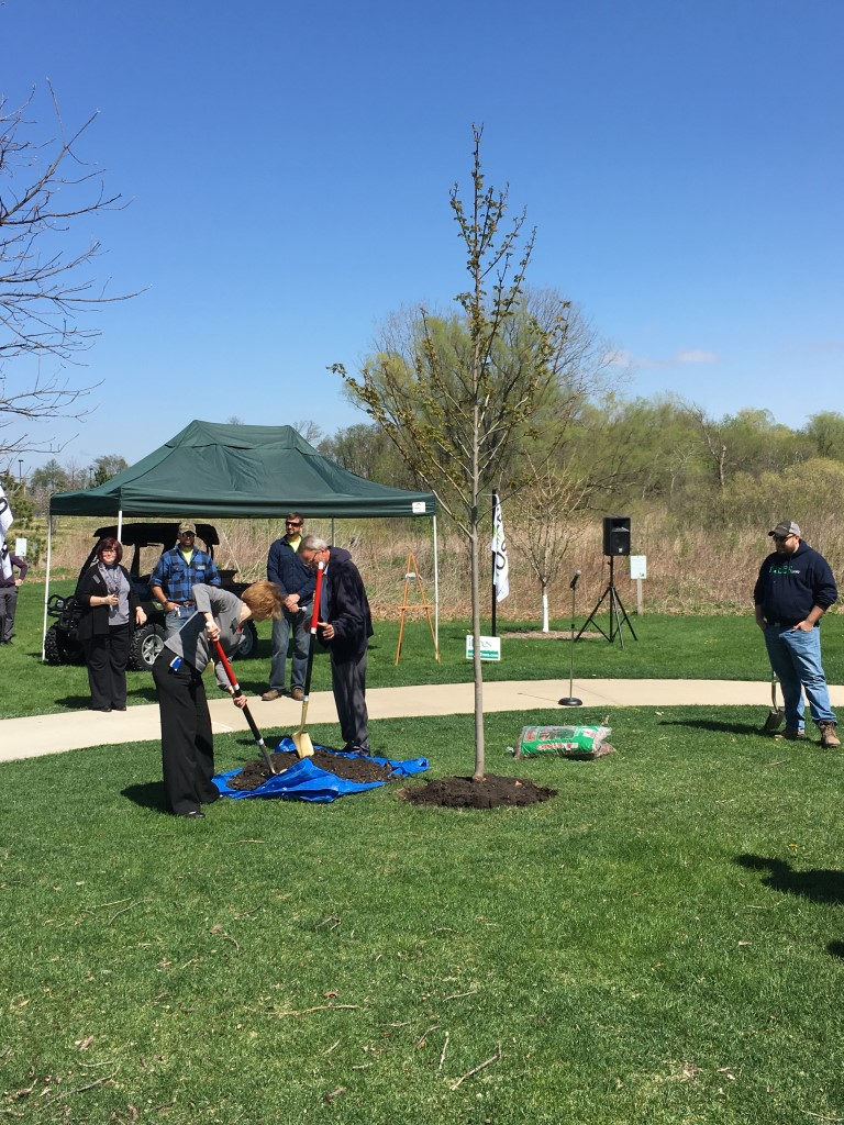 Tree Campus USA- Tree Planting Ceremony at Waubonsee Community College