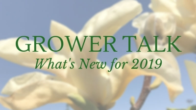 Grower Talk- What's New for 2019
