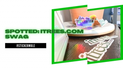 Spotted: iTrees.com Swag