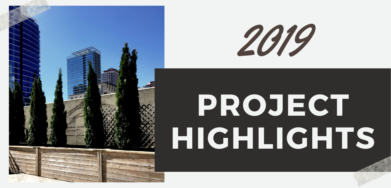 2019 Project Highlights