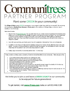 Communitrees Coupon Code Flyer