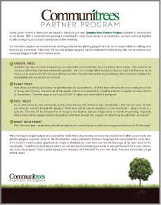 Communitrees Program Flyer 1